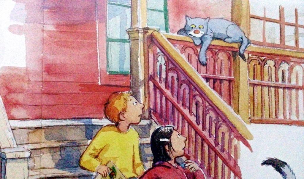 Hanna, Hugo och huskatten