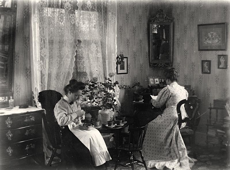 Aschanska gården. Foto: Arkivbild Eksjö museum