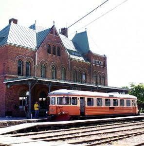Historische Eisenbahnstrecke/Pershyttan
