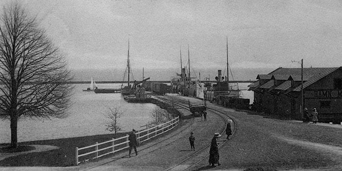 hamnen Hjo